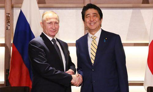 プーチン大統領 安倍総理