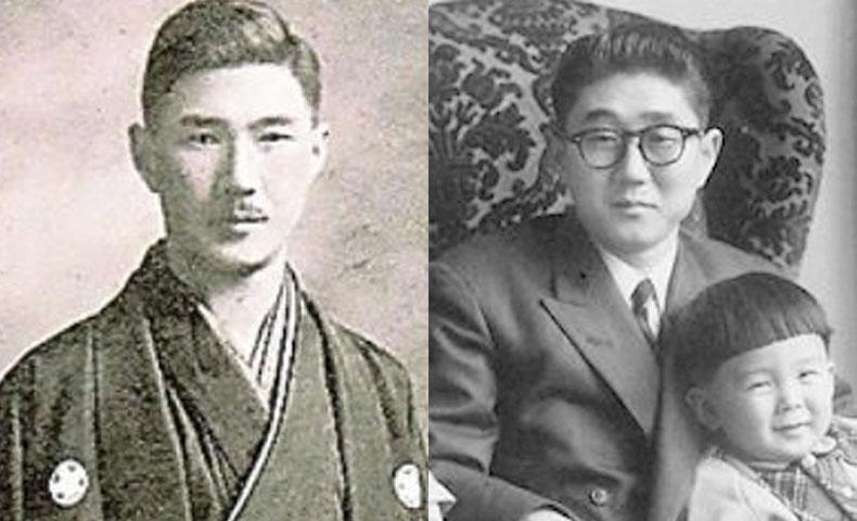 安倍総理の父と祖父