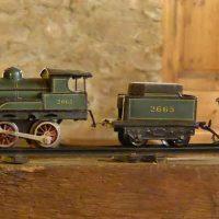 鉄道の模型